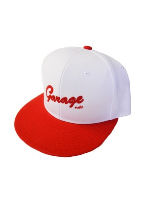 Authentic Bic Logo cap White/Red