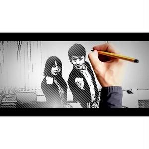 【結婚映像制作PF版】絵が動きだす!鉛筆で描くウェディングマンガ  /生い立ち/オープニング/プロフィール/グッズ/映像