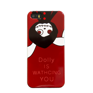 (Large)Dolly IS WATCHING YOU Smart Phone Case - [スマホケース]