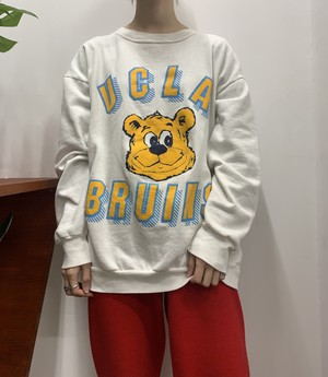 "1990s MADE IN USA ""UCLA BRUINS"" print sweat 【XX-LARGE】"
