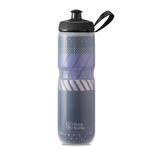 POLAR BOTTLE / Tempo 24oz / Charcoal/Pink