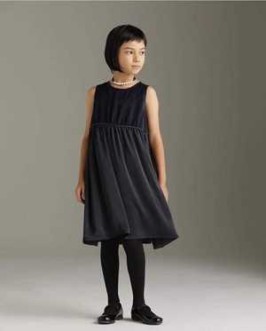 ARCH&LINE グロッシーボレロジャケット&ワンピースセットアップ 125㎝