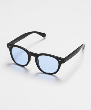Wellington type Sunglasses [Blue]