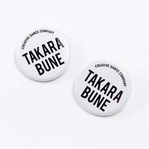 缶バッチ(button badge) 【White】