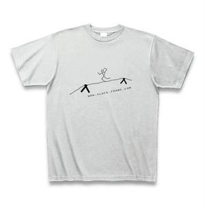 Slack-Frame Tシャツ #02 - アッシュ