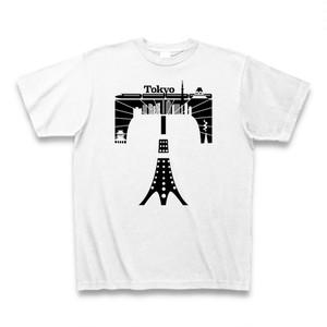 Tシャツ Tokyo:ホワイト