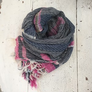 【tamaki niime】roots shawl MIDDLE cotton100%  A~D 玉木新雌