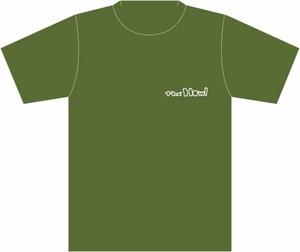 ロゴ Tシャツ  (カーキ)