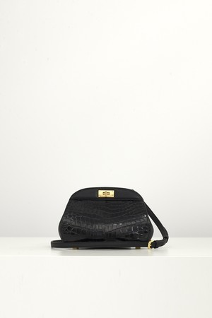 GURE pouch, croc /  グレ ポーチ, クロック