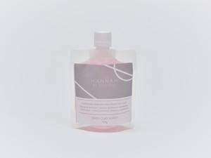 初回購入 オリジナル洗顔ネット付 HANNAH BY SUPERBLY  DAISY CLAY WASH 110g あわもこ泥洗顔 [単品購入] 110g 30回分