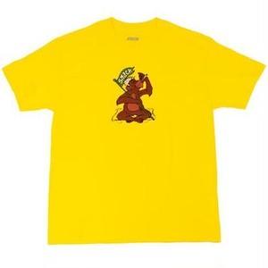 SNACK SKATEBOARDS / JUNGLE TEE / YELLOW  / Tシャツ / Lサイズ
