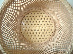 鉄鉢 盛りかご(中)【底:鉄線編み】