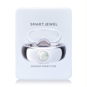 Smart Jewel‐Inray Thick-White‐17SJ6-1-WHTWHO