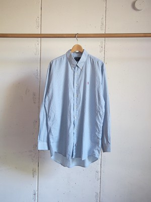USED / Polo by Ralph Lauren, Long sleeve B.D. check shirts
