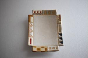 古川真紀子(撫菜花工藝)|幾何学模様角豆皿⑨