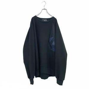 Raglan-T-Shirts L (black)