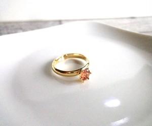 天然石の指輪■マルチカラー スピネル■ミルククラウン フリーサイズ