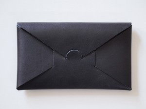 【i ro se】SEAMLESS LONG WALLET 長財布 BLACK