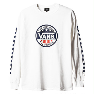 VANS × SD Circle Logo Long Sleeve T