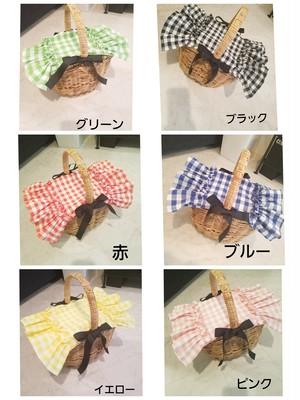 受注予約☆mimi☆アラログ専用着せ替え蓋☆ギンガムチェック6色