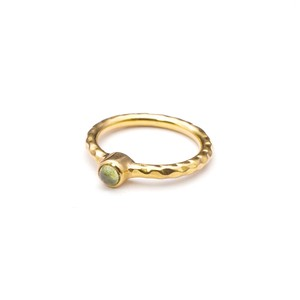 SINGLE PETIT STONE NON-ADJUSTABLE RING 076
