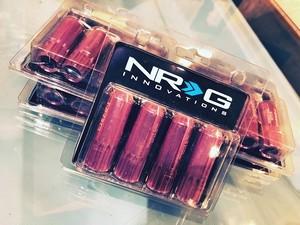 5穴用1台分セット NRG ロングナット(ロック付き)12x1.25