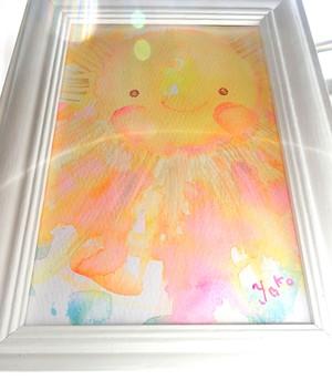 原画*愛とやさしさの太陽*