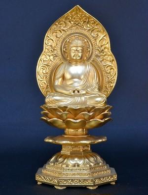 仏像 座阿弥陀 1.5寸