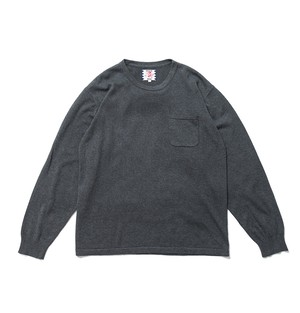 【SON OF THE CHEESE】C100 long sleeve(GRAY)