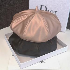 PU gloss belt hat 4color