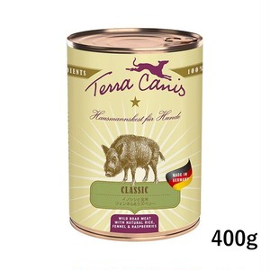 テラカニス【クラシック犬用総合栄養食】イノシシ玄米入り400g