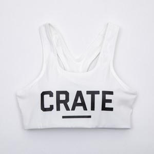 CRATE GYM BRA TOP White