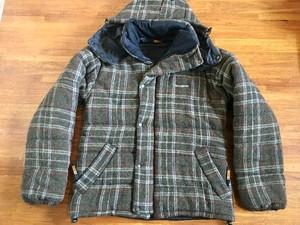 イギリス製 snug pak スナッグパック ハリスツイード使用 パーテックスジャケット Sサイズ
