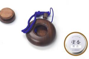 塗香入れ(紫檀)+塗香(極品) セット