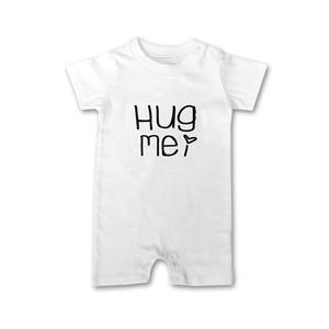 Hug Me  手書き風メッセージ ロンパース 70cm