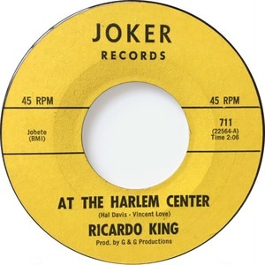 Ricardo King – At The Harlem Center / This Is The Moment