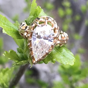 2.5ct Antique Style Vintage Diamond Ring