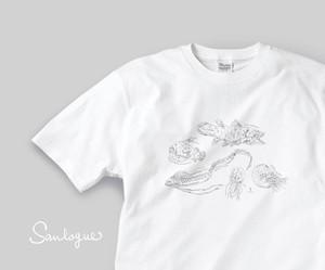 深海生物のTシャツ