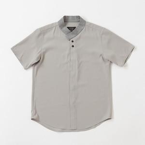 ラップカラーシャツ