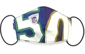【デザイナーズマスク 吸水速乾COOLMAX使用 日本製】 NFL  SPORTS MIX MASK CTMR 1019047