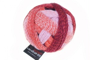 No.2305 SCHOPPEL  Laceball 100 Red to GO