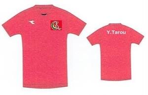 2019年U12ゲームシャツ(番号なし)U12(~小学4年生)対象商品
