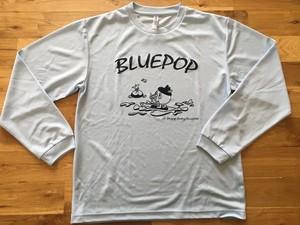 ★HP限定★ブルーポップSUPTシャツ(ライトブルー)長袖 ドライ