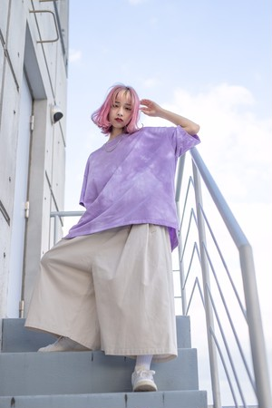 BLANK105s Over T-Shirt (Purple)