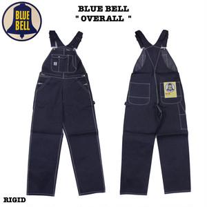 """10%0ff!! BLUE BELL / ブルーベル """"OVERALL"""" WM1502 / RIGID / NON-WASH オーバーオール / リジッド / 生デニム / Wrangler"""