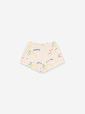 【入荷済】bobochoses(ボボショセス)Playground All Over Terry Fleece Shorts ショートパンツ