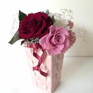 [お祝・お見舞い・誕生日・プレゼント] プリザーブドフラワー&アーティフィシャルフラワー