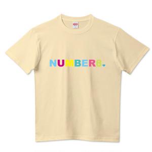 Number8(ナンバーエイト) レインボーロゴスモールダイヤモンドTシャツ(レインボーバージョン)ナチュラル メンズ レディース キッズ