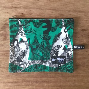 "ミニポーチ mini pouch ""jungle here""G02"