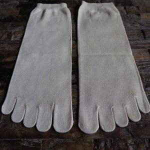 絹五本指靴下